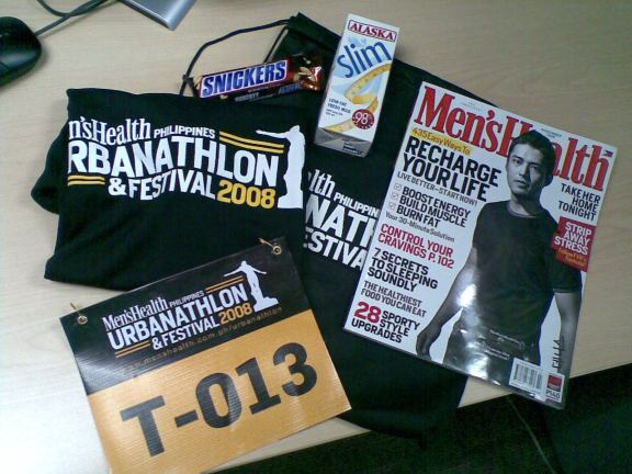 Urbanathlon Race Kit