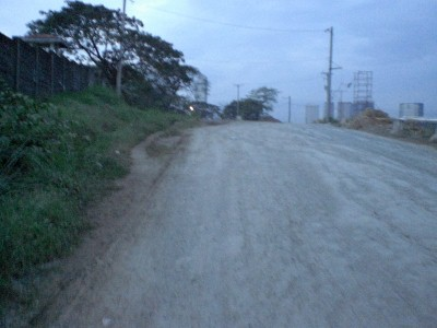 Trails going to Bonifacio Global City