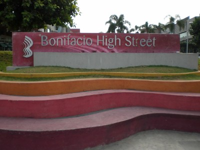 Bonifacio High Street, the finish area of this LSD