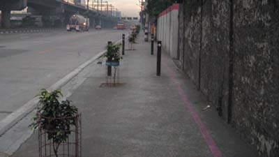 EDSA's more pedestrian friendly than you'd expect