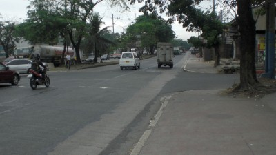 Commonwealth Ave. loses its width in Fairview but not its sidewalks
