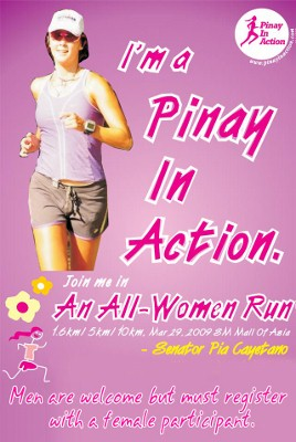 Pinay in Action All-Women Run